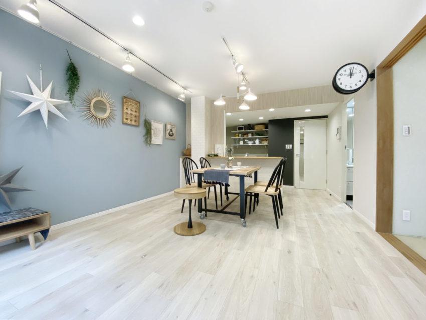 内装に統一感があり、綺麗で開放感のあるお部屋です!(※3月下旬に実施したインタビューの記事になります。)